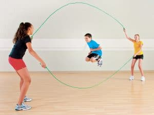 Students Jumping Rope - Plyometric Exercises for Elementary PE