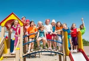 Children at recess