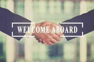 Welcome Aboard Sign - Superintendent