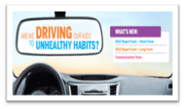 Driving to unhealthy habits sign