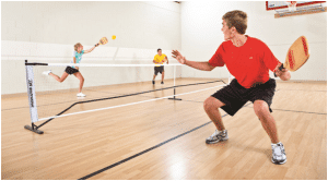 Pickleball is an excellent gym game