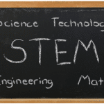 STEM Chalk Board