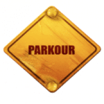Parkour sign for Teaching Parkour