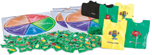 Food tag frenzy nutrition games