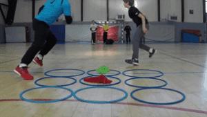 Tic Tac Toe Relay Fun PE Game