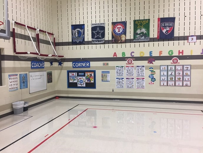 Physical Education Teaching Space