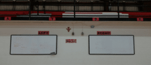 Labeled PE walls
