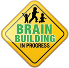 Brain Building in Progress Sign