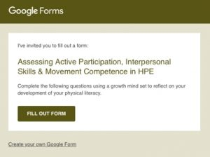 This Google Form is a great technology resource for teachers