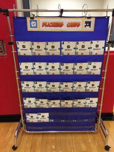 Plickers card storage rack