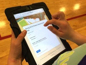 Using google forms for Phys Ed assessment
