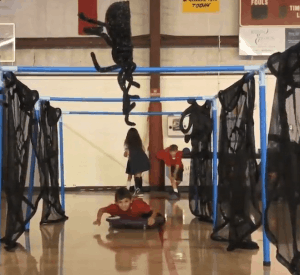 Spider PE Halloween Stations