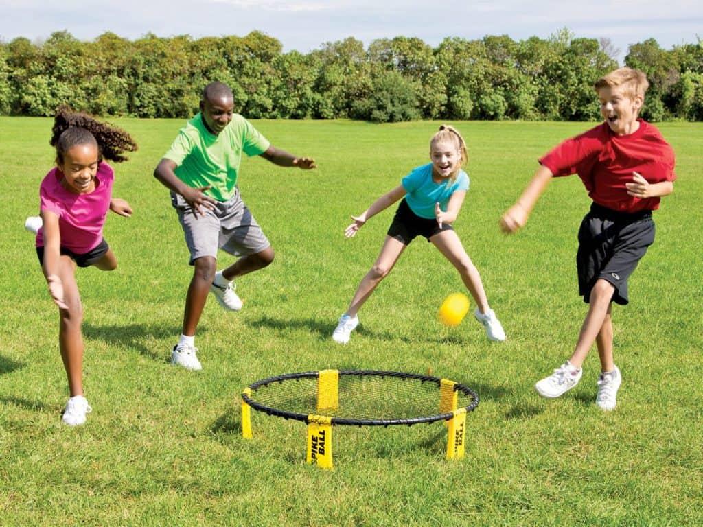 g 58196 spikeball game kids outdoor set