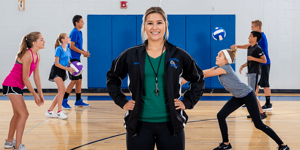 Teacher UpFront volleyball 439 1